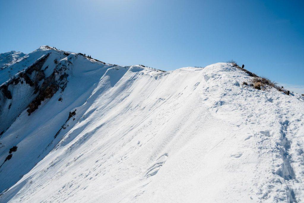 冬の伯耆大山