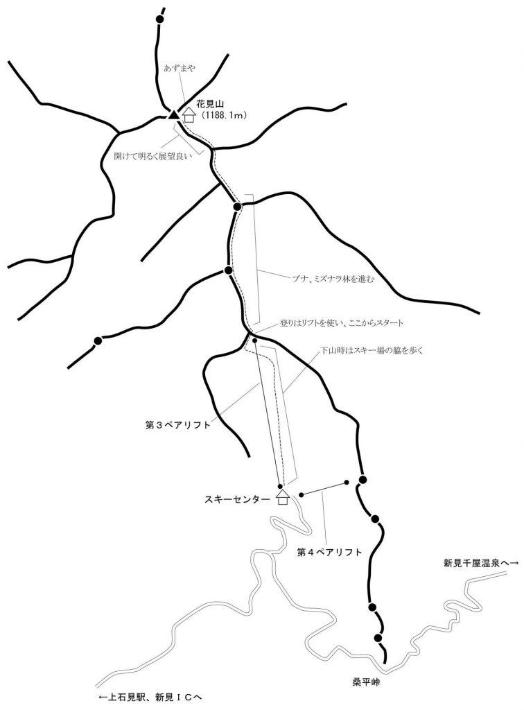 花見山 地図