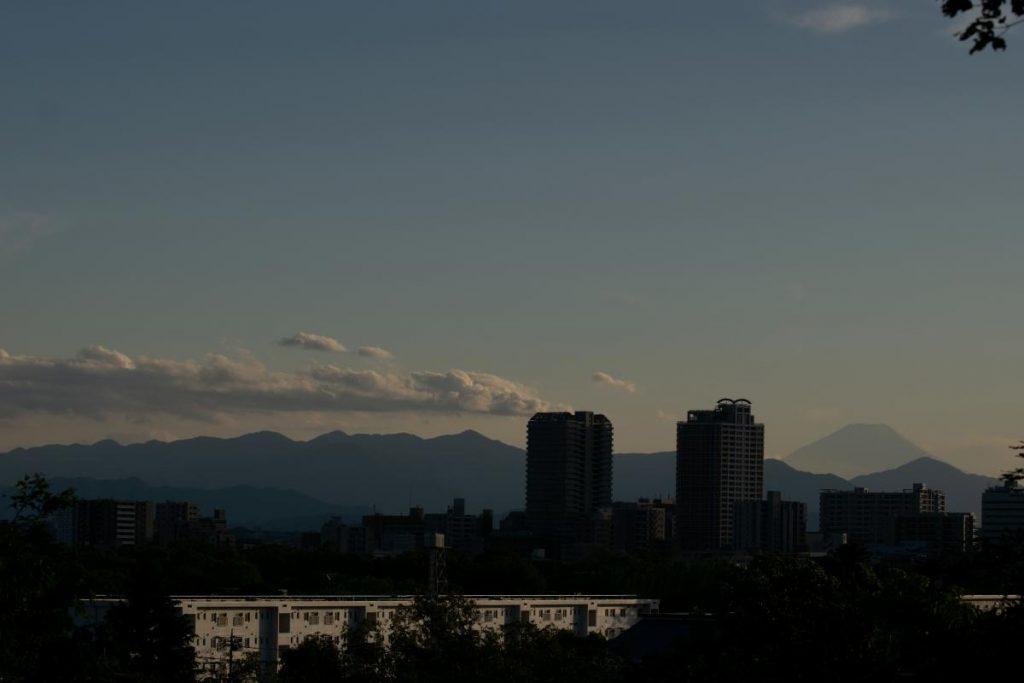 国分寺周辺の山 浅間山