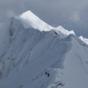 3月のいい山 大山